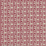Chafarcani By French General For Moda Fabrics M13854-13  Lighter Red/Cream