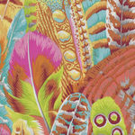 Feathers Fabric by Kaffe Fassett Collective for Free Spirit PWPJ 055 Colour Yell