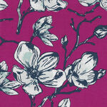 Garden Party By Keera Job for Riley Blake Designs Pattern C9561 Colour Fuschia.