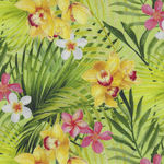 Island Sun for Northcott Fabrics Tropical Orchids 22622 Color 72