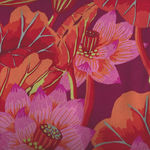 Kaffe Fassett Collective for Free Spirit GP-93 Lake Blossoms REDD
