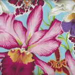 Kaffe Fassett Collective for Free Spirit Spring 2018 PWP J092 Orchids Natural