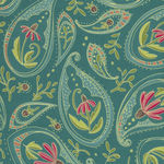 Moda Painted Meadow by Robin Pickens M48661 Colour 12 Teal