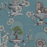 """The Collector Liberty Of London Tana Lawn Width 53"""" 036302135A Color Dusky Teal."""