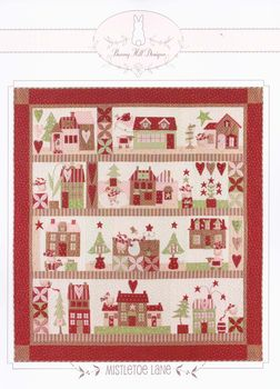+quotNEW+quot Bunny Hill Designs Applique Block of the Month +quotMistletoe L