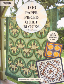 100 Paper Pieced Quilt Blocks by Linda Causee