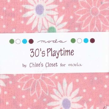 30and39s Playtime by Chloeand39s for Moda