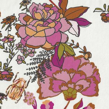 365 Fifth Avenue From Art Gallery Fabrics FAV85845 Whitepink