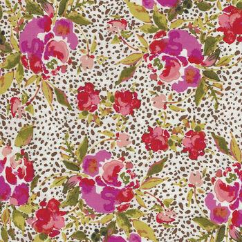 365 Fifth Avenue From Art Gallery Fabrics FAV85848 WhiteGreen