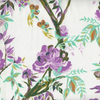 365 Fifth Avenue From Art Gallery Fabrics FAV95841 WhiteMauve