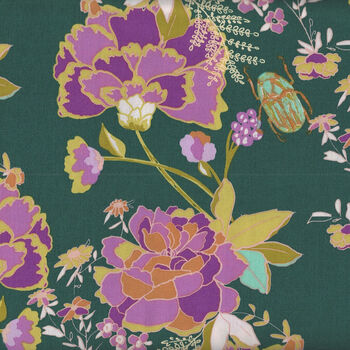 365 Fifth Avenue From Art Gallery Fabrics FAV95845 Green