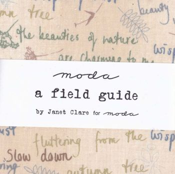 A FIELD GUIDE PRE CUTS BY MODA
