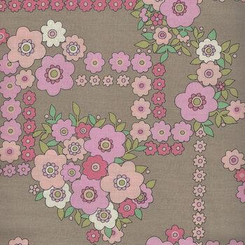 A Ghastlie Bouquet By Alexander Henry Fabrics 8789 A CaramelPink