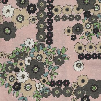 A Ghastlie Bouquet By Alexander Henry Fabrics 8789 C Dusky Pink