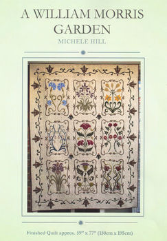 A WILLIAM MORRIS GARDEN PATTERN by Michele Hill