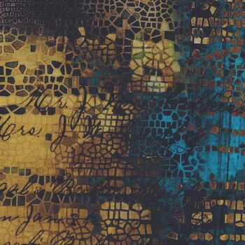 Abandoned 2 by Tim Holtz for Free Spirit PWTH140 Gold