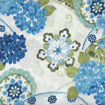 Ajisai Hydrangea by Jason Yenter for In The Beginning Fabrics 2148 1A11 Color 1