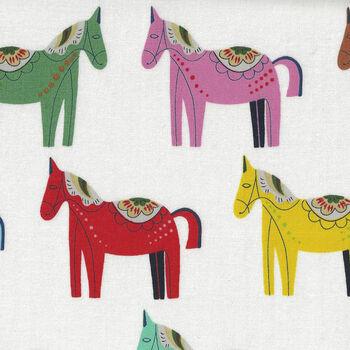 Alexander Henry Carita Cabello Fabric 8809 Colour A Multi