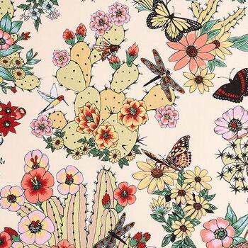 Alexander Henry Fabric Folklorico DE8862 A Hacienda Cactus