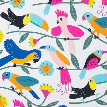 Alexander Henry Fabrics Las Plumas Folklorico 8858 A Multi