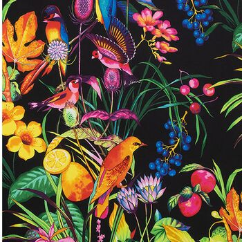 Alexander Henry Fabrics Nicoleand39s Prints A Rainbow Rainforest  8871A Multi