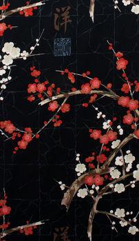 Alexander Henry Golden Garden Cherry Blossom Fabric M7614 C