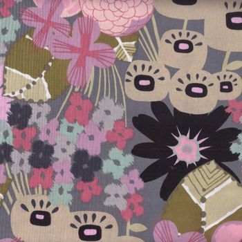 Alexander Henry Karin 7895 Smoke Patchwork and Quilting Fabric