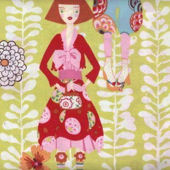 Alexander Henry Rivoli Girl Fabric