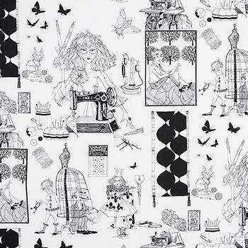 Alexander Henry  A Ghastlie Craft  8714 C Sewing Theme