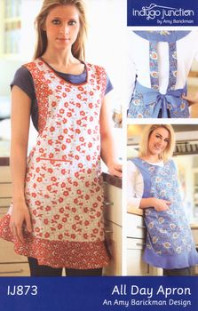 All Day Apron  Pattern from Indygo Junction