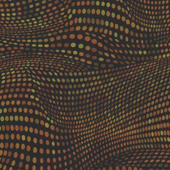 Andalucia by Jinny Beyer RJR Fabrics JB201 Colour OC3 Tangerine