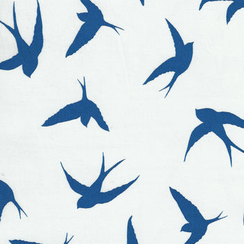 Anthology Batik  Cotton Fabric 2000Q3 Bluebirds