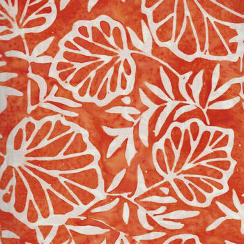 Anthology Batik for Fern Textiles 2154QX Orange Poker Night