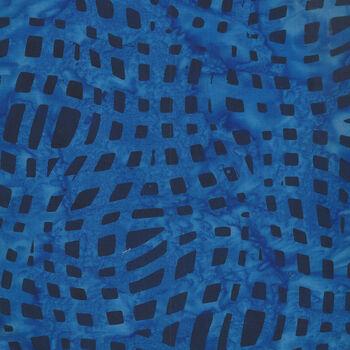 Anthology Batik for Fern Textiles 847Q2 Indigo Batik