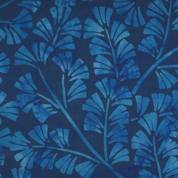 Anthology Batik for Fern Textiles 850Q2 Indigo Batik