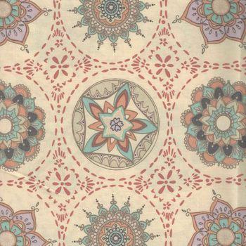 Art Gallery Fabrics Soulful by Maureen Cracknall TOSOU3630 Mandala Harmony Silent