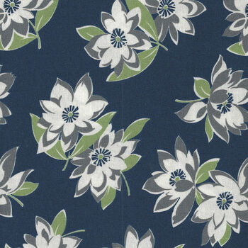 At Home By Bonnie And Camille For Moda Fabrics M5520021C Navy