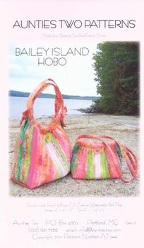 Aunties Two Patchwork bag Pattern andquotBailey Island Hoboandquot