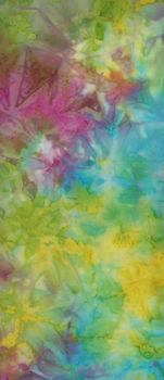 Ayu Batiks from Batik Australia AM Color 13 YellowGreenPinkBlue