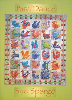 BIRD DANCE from Sue Spargo book