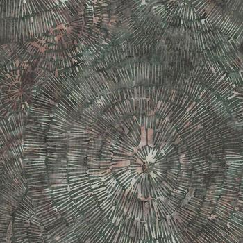 Bali Handpaints by Hoffman HQ2130 098 Bark Texture Color Moss