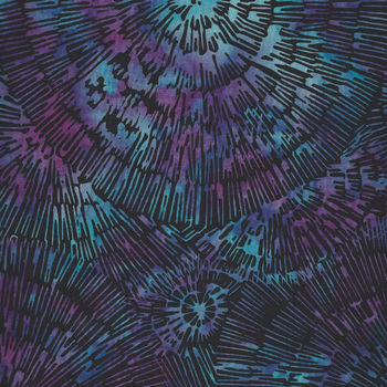 Bali Handpaints by Hoffman HQ2130 658 Bark Texture Color Electric Purple