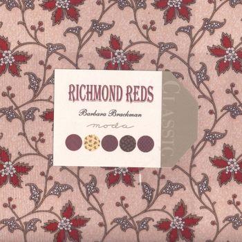 Barbara Brackman Richmond Reds Layer Cake for Moda
