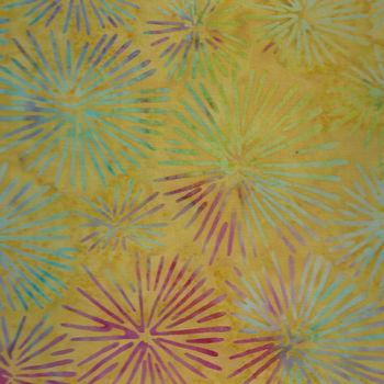 Batik Australia  BA173 YellowMulti