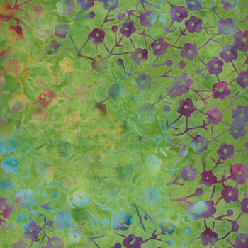 Batik Australia  BA204 GreenMulti