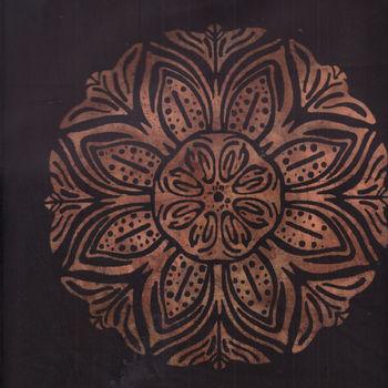 Batik by Hoffman Fabrics M2743 col Antique Black