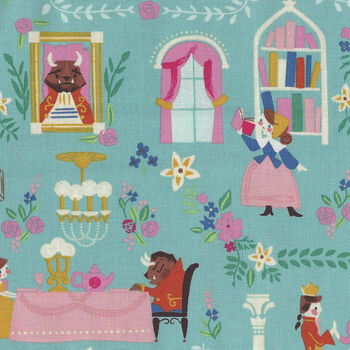 Beauty And The Beast By Jill Howarth For Riley Blake Designs C9530 Color Blue