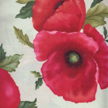 Benartex Poppy Panache 620colour 04 by Grizzly Gulch Patchwork and Quilting Fabric