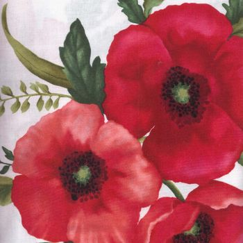 Benartex Poppy Panache from Grizzly Gulch 620col9 Patchwork and Quilting Fabric