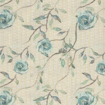 Bloom Beautiful by Shell Rummel PWSR018 Heirloom Roses